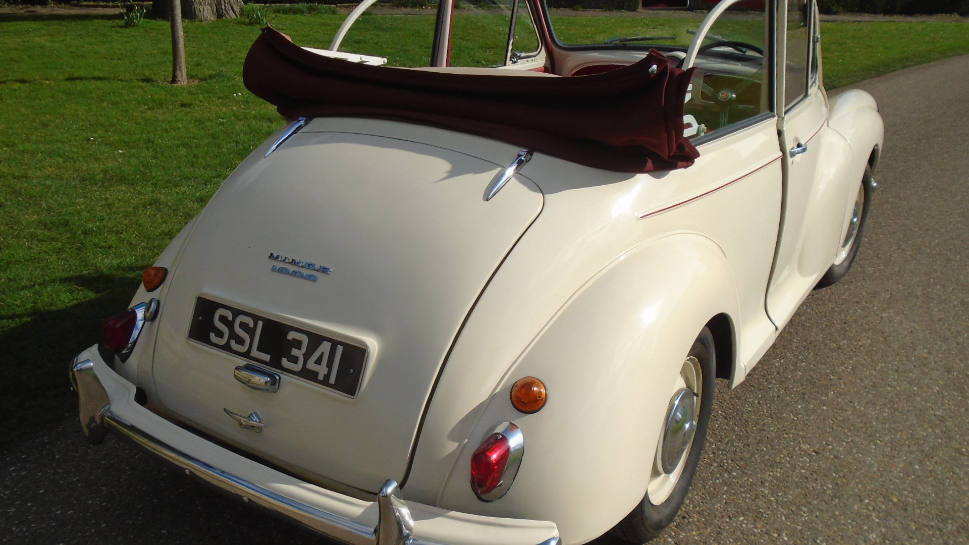 1962 Morris Minor Convertible, Genuine Tourer. For Sale (picture 3 of 10)