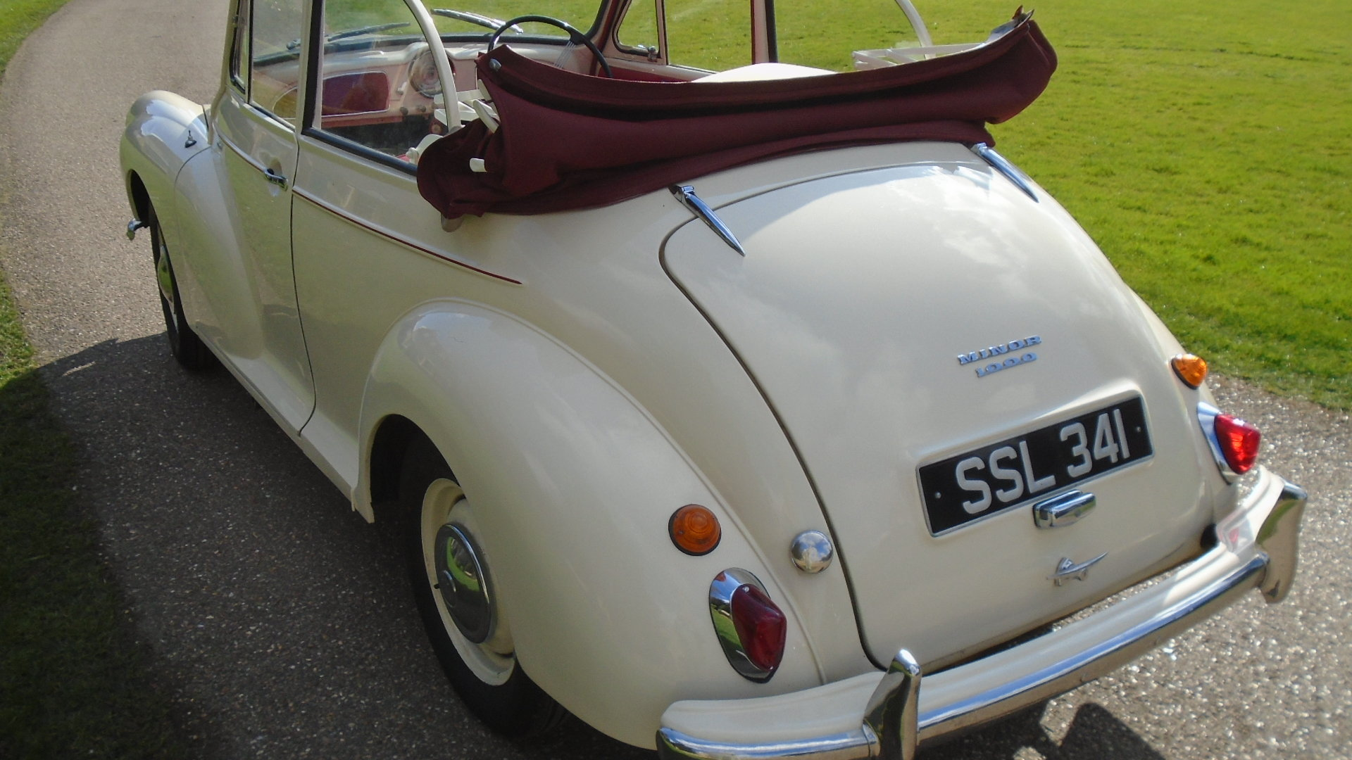 1962 Morris Minor Convertible, Genuine Tourer. For Sale (picture 4 of 10)