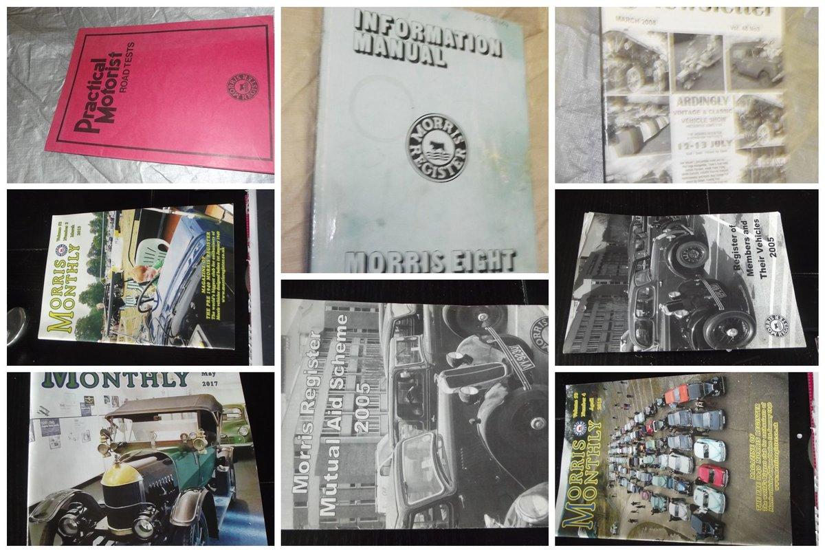 0000 MORRIS 8 MEMORABILIA FOR SALE MAGS, MANUALS ETC For Sale (picture 5 of 12)