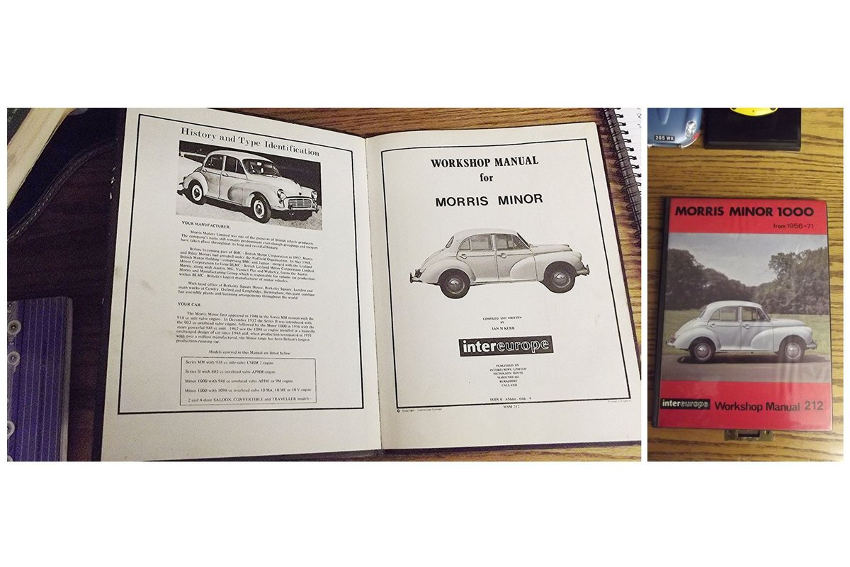 0000 MORRIS MINOR WORKSHOP MANUALS OPS MANUAL For Sale (picture 6 of 12)