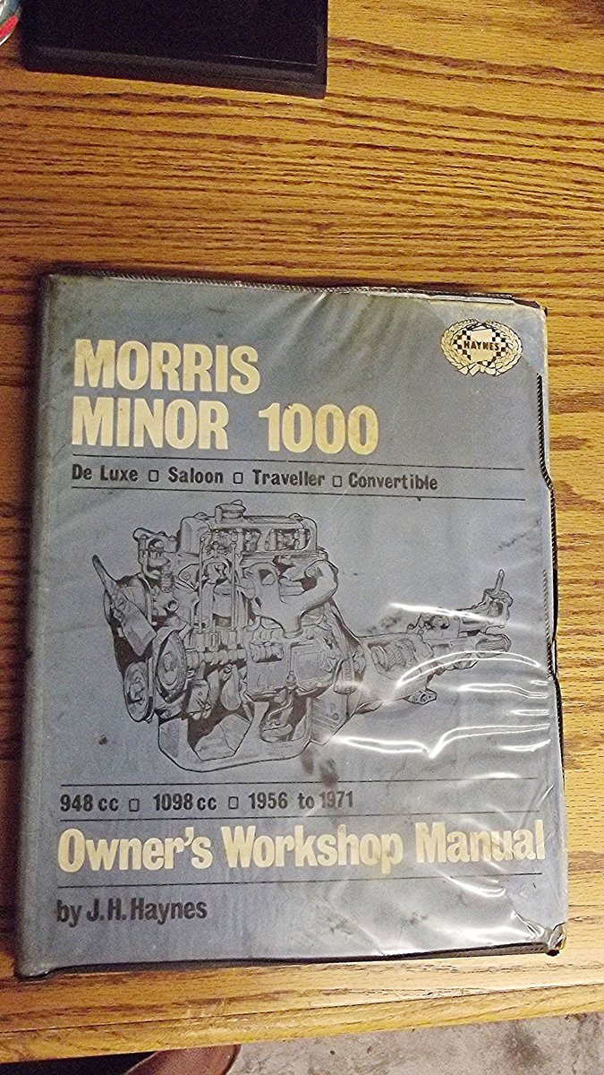 0000 MORRIS MINOR WORKSHOP MANUALS OPS MANUAL For Sale (picture 8 of 12)