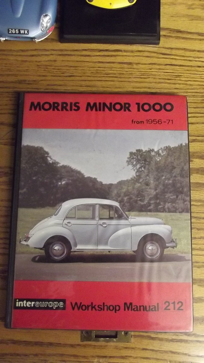 0000 MORRIS MINOR WORKSHOP MANUALS OPS MANUAL For Sale (picture 9 of 12)