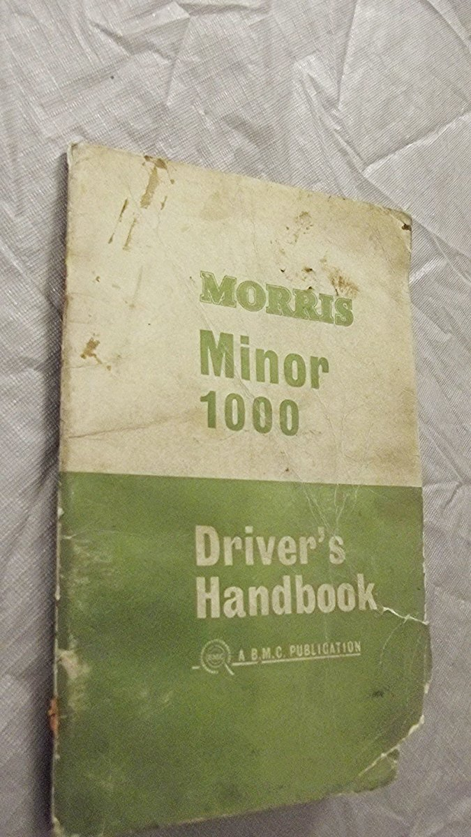 0000 MORRIS MINOR WORKSHOP MANUALS OPS MANUAL For Sale (picture 12 of 12)