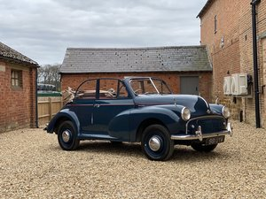 Picture of 1953 Morris Minor Series II Convertible. SOLD