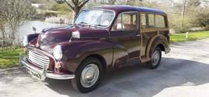 Picture of 1968 MORRIS MINOR TRAVELLER ~ SOLID WOODY ~ OWNER 35 YRS! For Sale