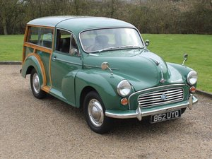 Picture of 1962 Morris Minor Traveller 1000 at ACA 1st and 2nd May For Sale by Auction