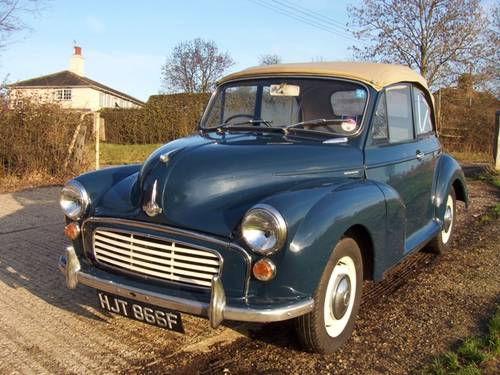 1960 Morris Minors  (picture 1 of 1)