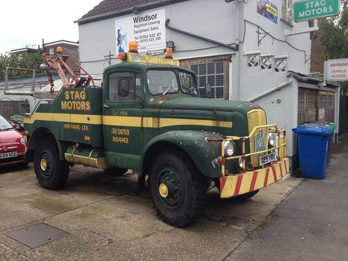 1954 Morris Ex WD Sand Desert Lorry SOLD (picture 1 of 3)
