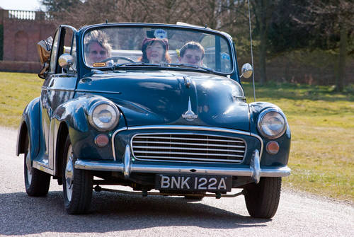 1964 Morris Minor Hire Yorkshire | Morris Minor Convertible Hire For Hire (picture 3 of 5)