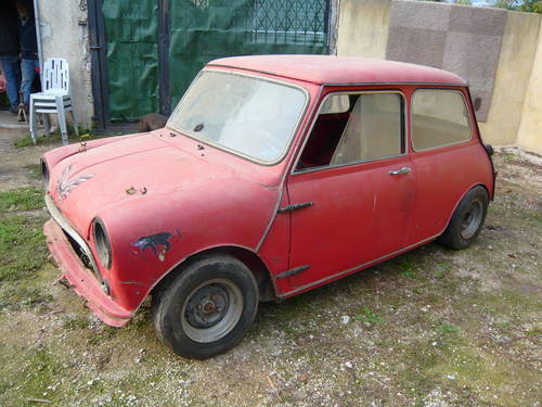1968 Austinmorris Cooper S Project Sold Car And Classic
