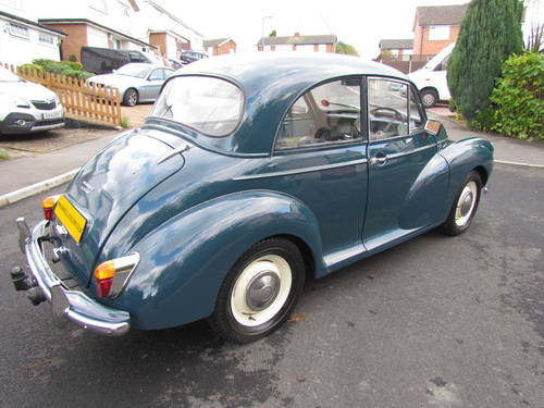 1964 MORRIS MINOR 1000 4 NOW SOLD MORE REQUIRED For Sale (picture 2 of 6)