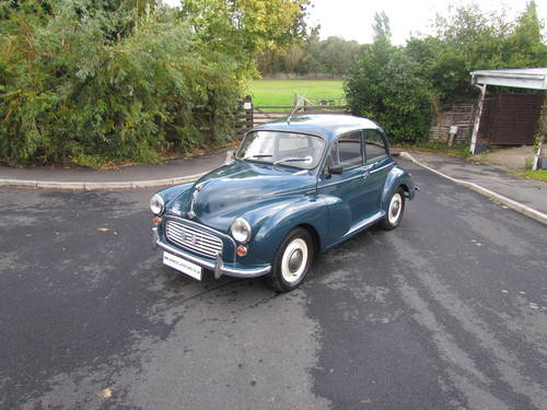1964 MORRIS MINOR 1000 4 NOW SOLD MORE REQUIRED For Sale (picture 6 of 6)