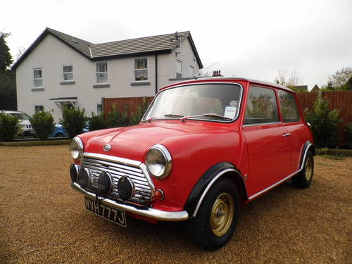 1971 Morris Mini Cooper S MK3 For Sale (picture 1 of 6)