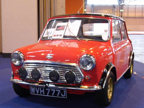 1971 MKIII Cooper S in Red and black 29k For Sale (picture 4 of 6)