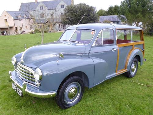 1954 Morris Oxford Traveller (MO series) 29,000 miles from new SOLD (picture 1 of 6)