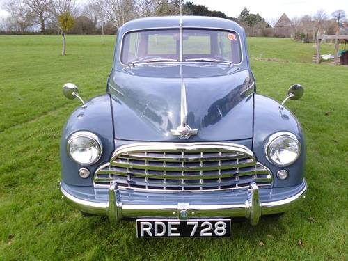 1954 Morris Oxford Traveller (MO series) 29,000 miles from new SOLD (picture 2 of 6)
