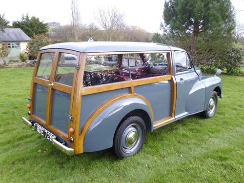 1954 Morris Oxford Traveller (MO series) 29,000 miles from new SOLD (picture 3 of 6)