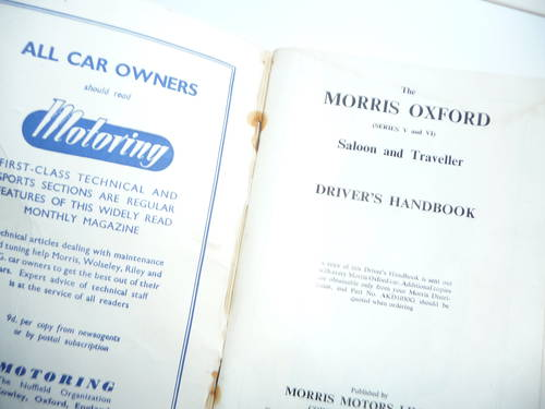 1960 Driver's Handbook   For Sale (picture 2 of 2)