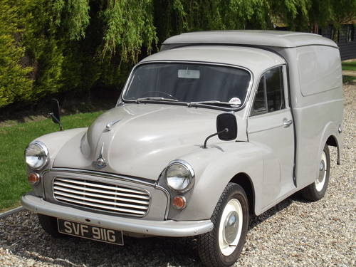 1969 Morris Minor Van. Now Sold. Similar Vans Wanted Wanted (picture 1 of 6)