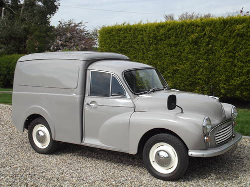 1969 Morris Minor Van. Now Sold. Similar Vans Wanted Wanted (picture 2 of 6)
