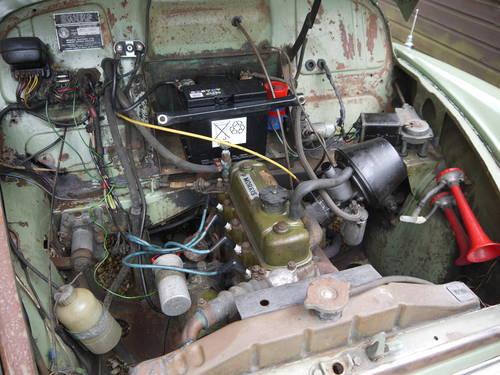 MORRIS MINOR 948CC - STRAIGHTFORWARD RESTORATION PROJECT! SOLD (picture 6 of 6)