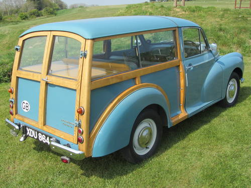1959 Morris Traveller Deluxe 1098cc For Sale SOLD (picture 5 of 6)