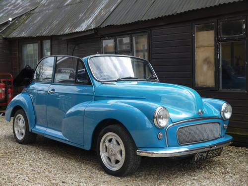 1968 MORRIS MINOR TWIN-CAM CONVERTIBLE - UNIQUE !! SOLD (picture 3 of 6)