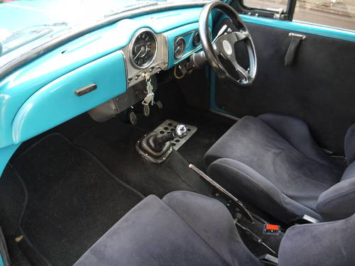 1968 MORRIS MINOR TWIN-CAM CONVERTIBLE - UNIQUE !! SOLD (picture 5 of 6)