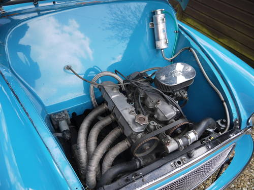 1968 MORRIS MINOR TWIN-CAM CONVERTIBLE - UNIQUE !! SOLD (picture 6 of 6)