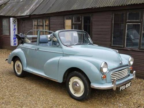 1970 WANTED - MORRIS MINOR SALOON OR TRAVELLER ! For Sale (picture 1 of 1)