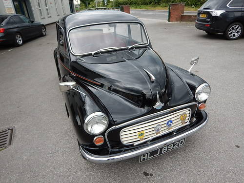 1966 MORRIS MINOR 1000 Two-Door Saloon  SOLD (picture 2 of 6)