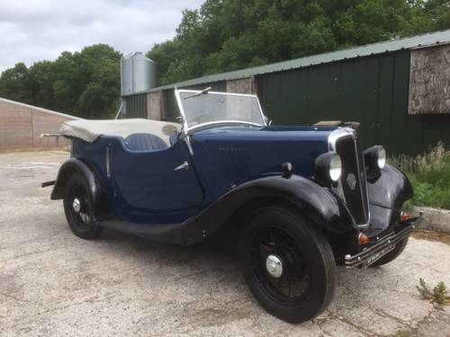 1936 Morris Eight Series I 4 Seat Tourer - in Hampshire.... SOLD (picture 1 of 6)