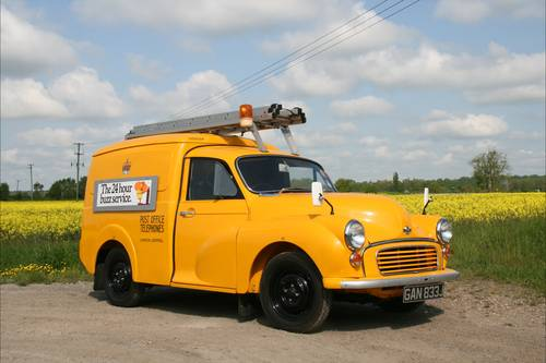 1971 Morris GPO Van for sale by auction on June 17th SOLD by Auction (picture 1 of 2)