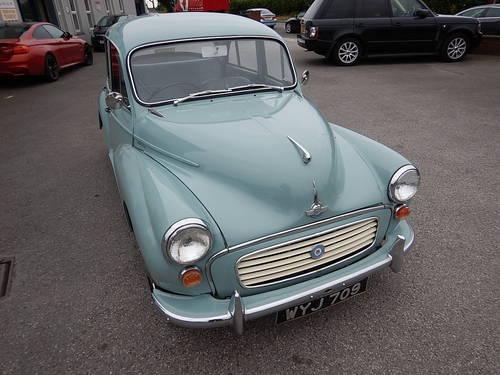 1957 Morris Minor 1000 Four Door Saloon  SOLD (picture 2 of 6)