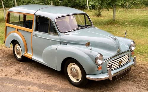 1969 '69 Morris Minor 1000 Traveller - Beautiful condition  SOLD (picture 1 of 6)