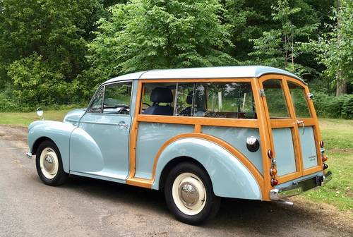 1969 '69 Morris Minor 1000 Traveller - Beautiful condition  SOLD (picture 2 of 6)