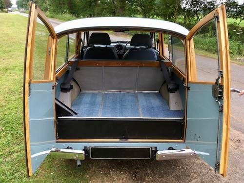 1969 '69 Morris Minor 1000 Traveller - Beautiful condition  SOLD (picture 5 of 6)