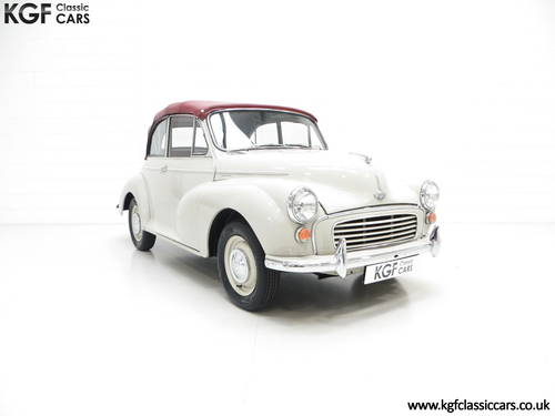 1959 A Genuine Factory Built Morris Minor 1000 Convertible SOLD (picture 1 of 6)