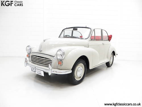 1959 A Genuine Factory Built Morris Minor 1000 Convertible SOLD (picture 2 of 6)