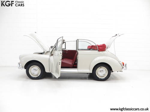 1959 A Genuine Factory Built Morris Minor 1000 Convertible SOLD (picture 3 of 6)