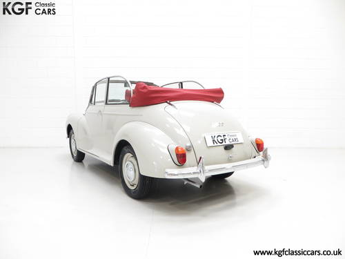 1959 A Genuine Factory Built Morris Minor 1000 Convertible SOLD (picture 4 of 6)