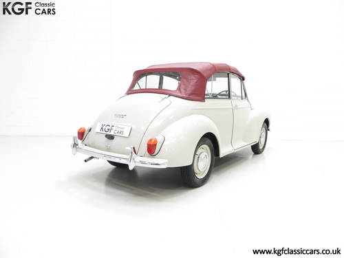 1959 A Genuine Factory Built Morris Minor 1000 Convertible SOLD (picture 5 of 6)