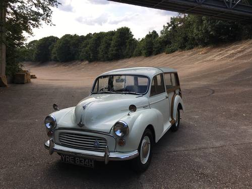 Morris Minor Traveller 1969 Restored Excellent example SOLD (picture 1 of 6)