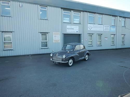 1962 MORRIS MINOR 1000 Four Door Saloon  SOLD (picture 6 of 6)