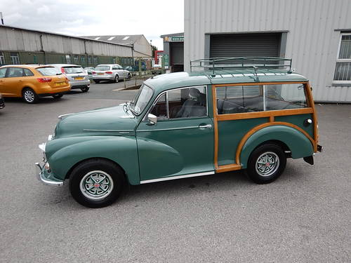 1966 Morris Minor 1000 Traveller ~ One Owner from New ~  SOLD (picture 1 of 6)