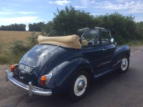 1968 Morris Minor 1000 Convertible for sale in Hampshire... SOLD (picture 2 of 6)