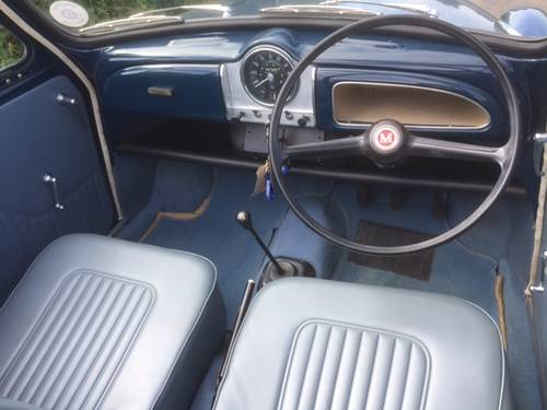 1968 Morris Minor 1000 Convertible for sale in Hampshire... SOLD (picture 3 of 6)