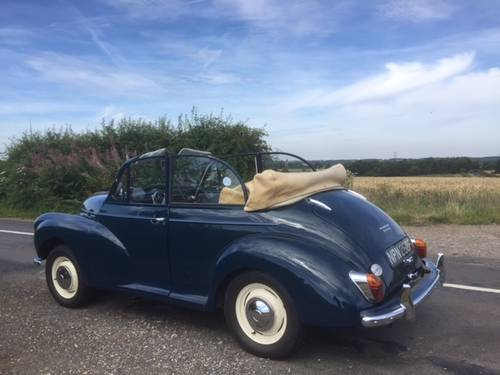 1968 Morris Minor 1000 Convertible for sale in Hampshire... SOLD (picture 6 of 6)