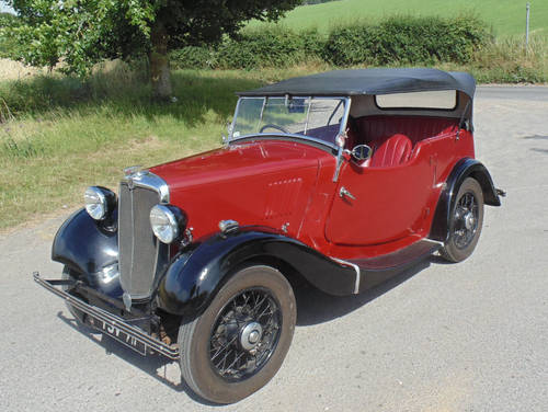 1935 Morris 8 Four Seater Tourer SOLD (picture 1 of 6)