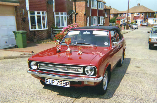 1976 Morris Marina Convertible For Sale (picture 1 of 6)